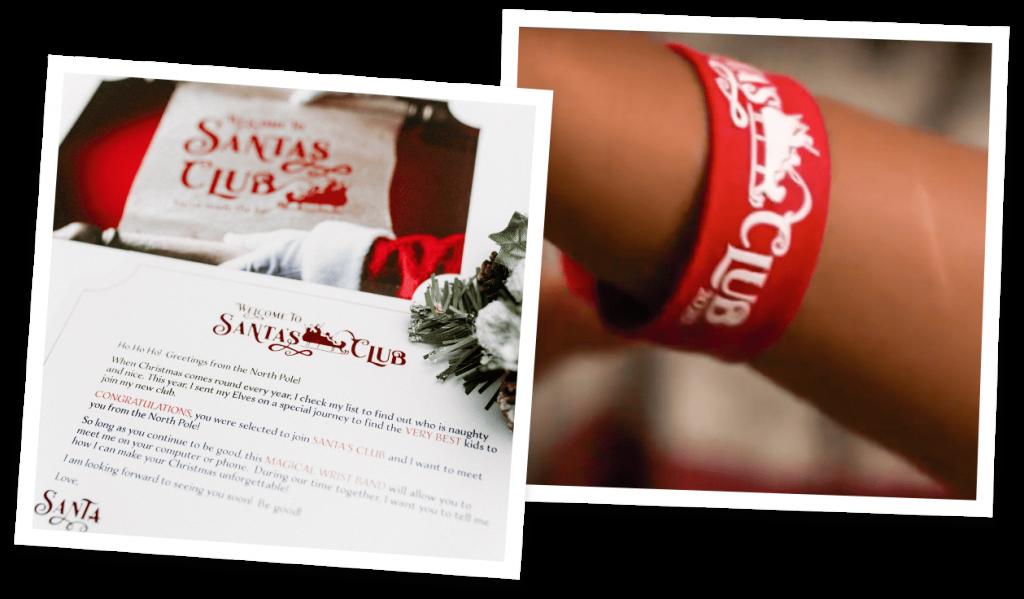 Letter and Bracelet for Santa's Club